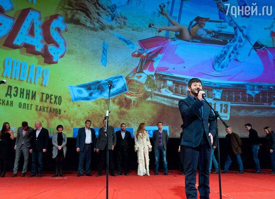 Главным героем вечера стал Михаил Галустян