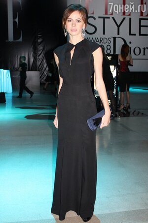 Оксана Лаврентьева на премии «Elle Style Awards 2008»
