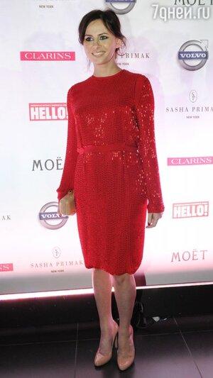 Оксана Лаврентьева на церемонии журнала«Hello!» «Самые стильные в России» в 2011 году