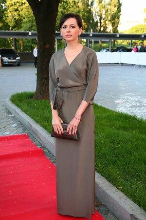 Оксана Лаврентьева на Балу моды и красоты «May Fashion» в 2010 году