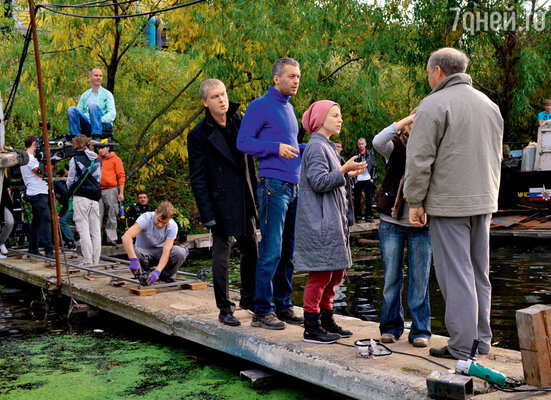 Фильм снимали на родине Сергея, вЕкатеринбурге, где актеру знакома каждая тропинка