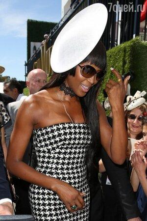 Наоми Кэмпбелл в Christian Dior