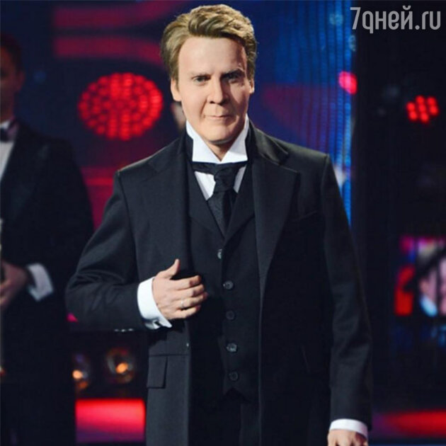 Максим Галкин в образе Федора Шаляпина