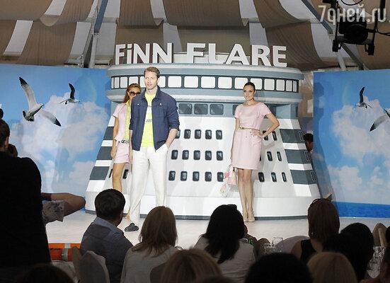Показ Finn Flare