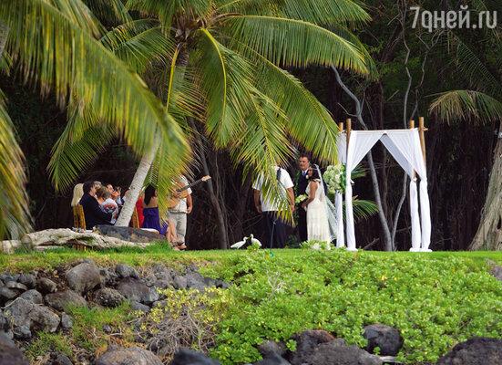 Тайное бракосочетание прошло на Гавайях