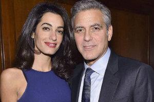 Амаль Клуни и ее супруг Джордж ждут ребенка