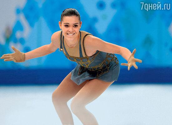 Аделина Сотникова на Олимпийских играх в Сочи