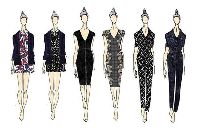 Первая коллекция одежды  Келли Осборн