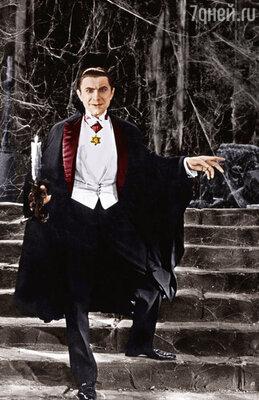 Актер венгерского происхождения Бела Лугоши создал образ вампира-аристократа