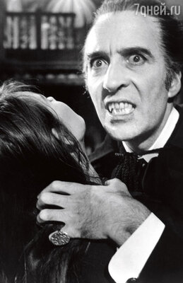Вампирские клыки Кристоферу Ли изготовил известный ирландский дантист...