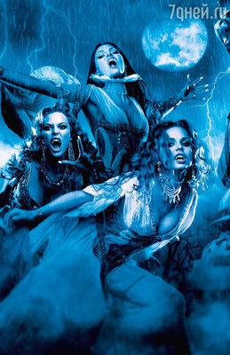 В вампирском фильме вседолжно быть прекрасно: и грим, икостюмы, и декорации, иформы актрис («Ван Хельсинг»)
