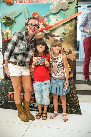 Рита Митрофанова с дочкой Полиной