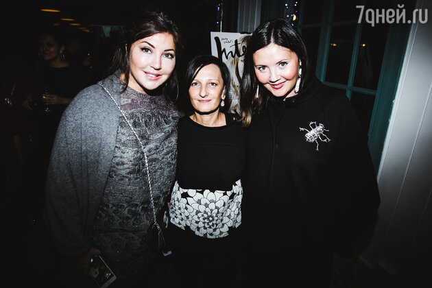 Светлана Тегин с Марией Лемешевой и Екатериной Двигубской