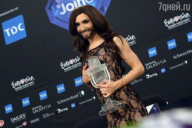 Победитель конкурса «Евровидение-2014» Кончита Вурст