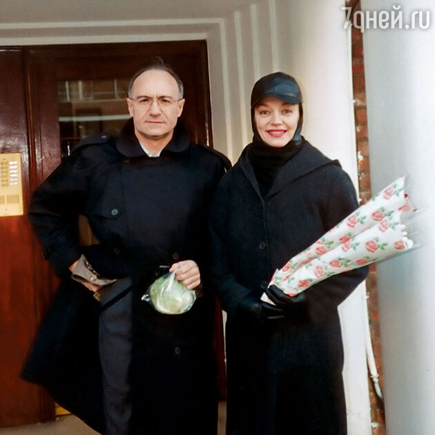 Михаил Мессерер и Наталья Трубникова