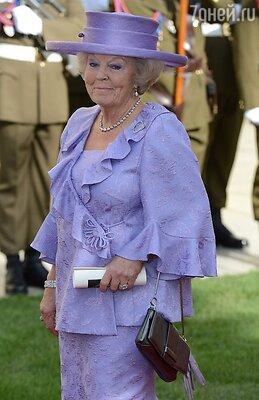 Королева Нидерландов Беатрикс