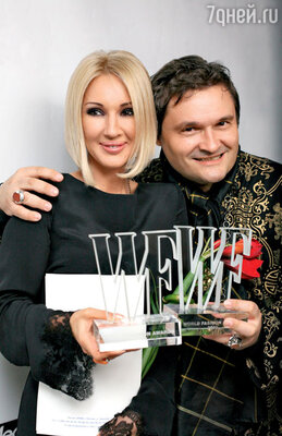 Лера Кудрявцева с Александром Васильевым. 2010 г.