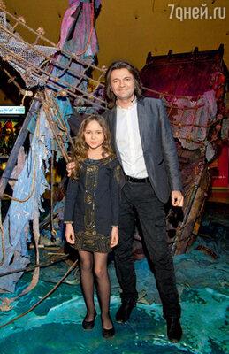 Дмитрий Маликов и его дочь Стефания