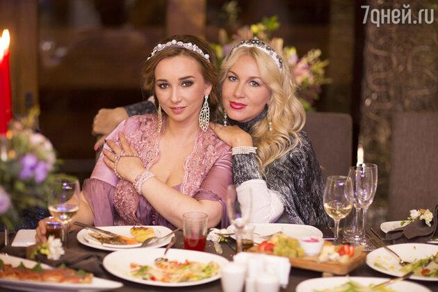 Анфиса Чехова и Екатерина Одинцова