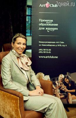 В модном московском ресторане состоялся семинар «Европейский светский этикет», проведенный Анной Дебар