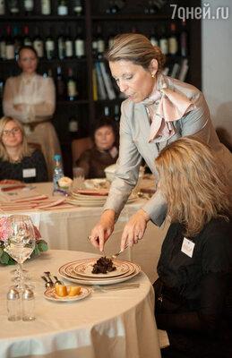 В процессе семинара-тренинга все гости имели возможность не только слушать и записывать, но и на практике применить новые знания