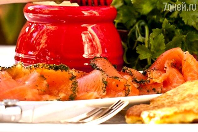 Холодная рыбная закуска: рецепт от шеф-повара Дмитрия Снурницина