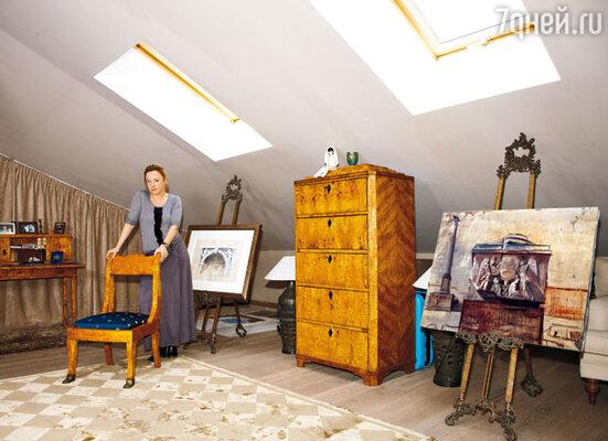 Одна из новых картин Саши будет представлена на грядущей выставке в галерее «Триумф»