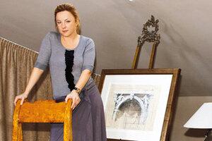 Саша Вертинская: Спальня в мастерской