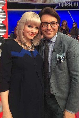 Андрей Малахов и Натали