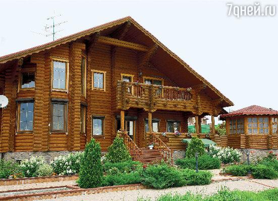Дом из карельской сосны строили плотники из Петрозаводска