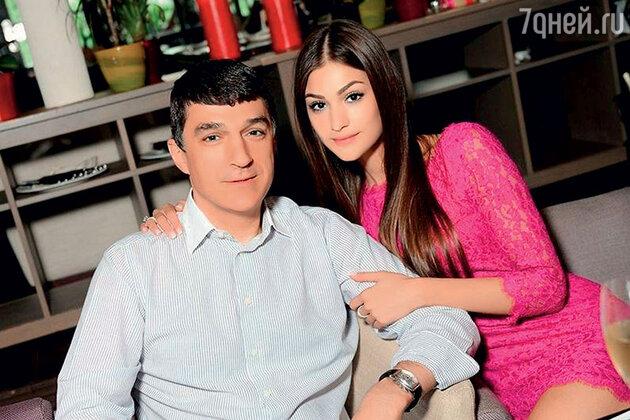 Анастасия Шубская с отцом Кириллом Шубским