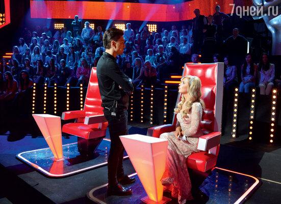 Дима Билан и Пелагея делятся впечатлениями от выступлений конкурсантов