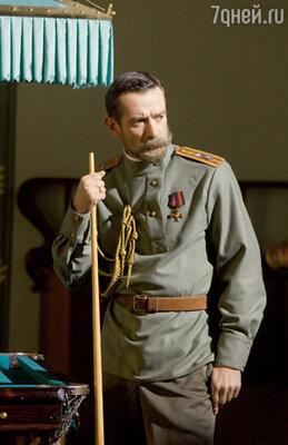 ...за партией в бильярд (в роли Николая II — Владимир Машков)