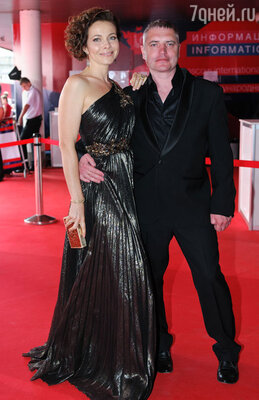 Екатерина Гусева с мужем