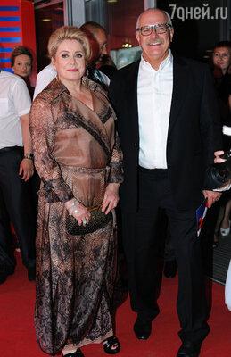 Катрин Денев и Никита Михалков
