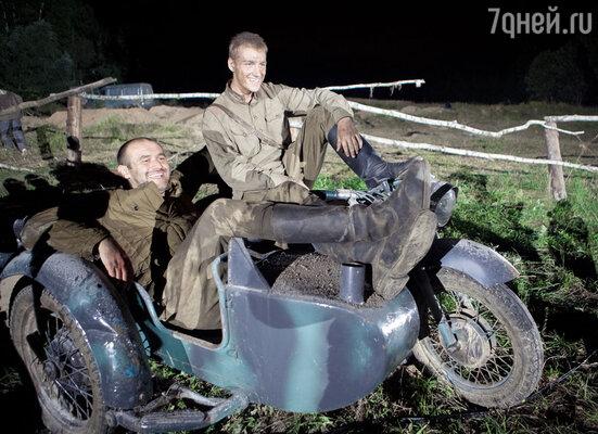 Съемки фильма «3 дня лейтенанта Кравцова»