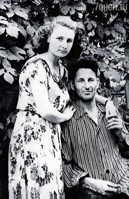 Мама Анастасия Алексеевна и папа Григорий Матвеевич