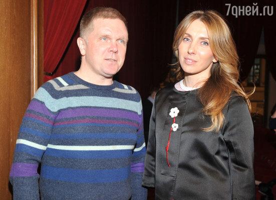 Светлана Бондарчук и Андрей Колесников