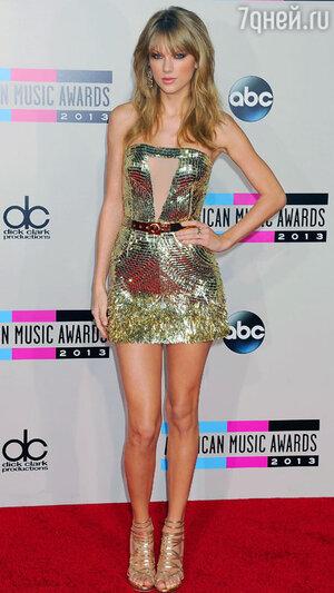 Тейлор Свифт на вручении премии American Music Awards