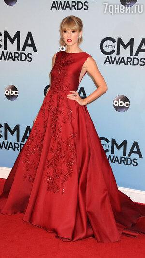 Тейлор Свифт на 47-ой церемонии Country Music Awards