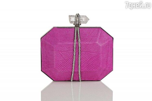 Клатч от Marchesa стал прообразом бутылочки дебютного парфюма Parfume d'Extase