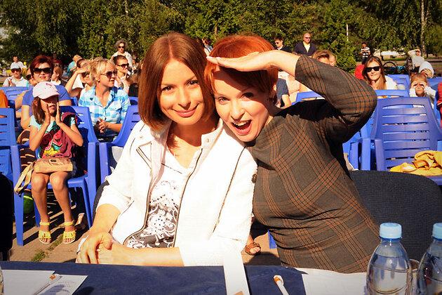 Ирина Лачина и Жанна Эппле