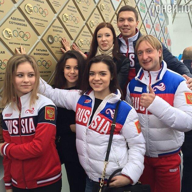 Открытие «Стены чемпионов Олимпийских Игр»