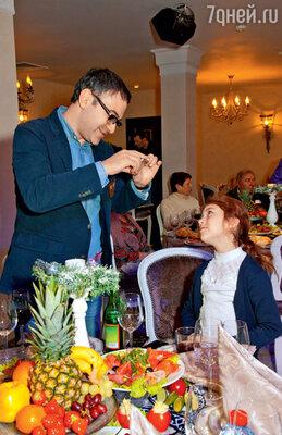 Гарик Мартиросян с дочкой Жасмин