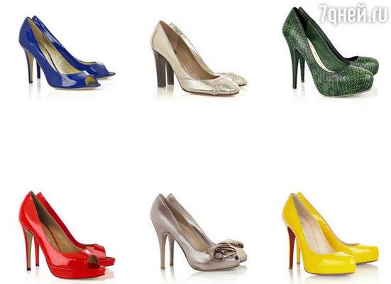 Туфли-лодочки самых ярких оттенков станут лучшими друзьями девушек в новом сезоне