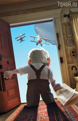 Кадр мультфильма «Вверх»