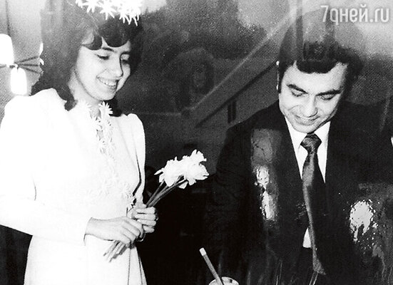 Свадьба родителей Ани Плетневой — Светланы иЮрия. 1975 г.
