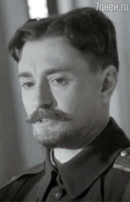 Сергей Безруков в роли генерала Каппеля в фильме «Адмиралъ». 2008 год