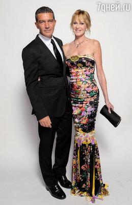 Антонио Бандерас и Мелани Гриффит