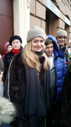 Анна и Степан Михалковы и Артем Кончаловский